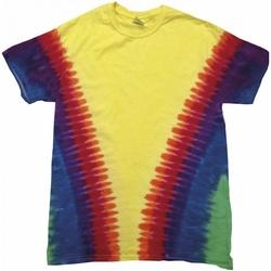 textil T-shirts Colortone TD05M Rainbow Vee