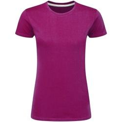 textil Dam T-shirts Sg Perfect Mörkrosa