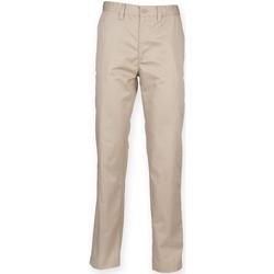 textil Herr Chinos / Carrot jeans Henbury HB640 Sten