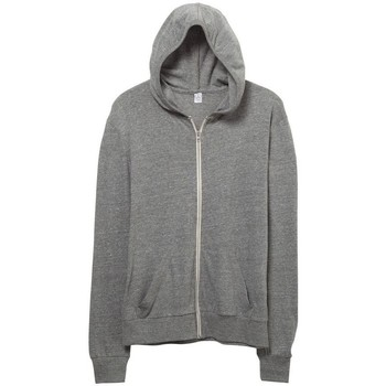 textil Herr Sweatshirts Alternative Apparel AT002 Eco Grey