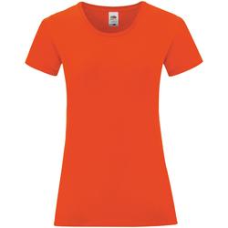 textil Dam T-shirts Fruit Of The Loom 61432 Flamröd