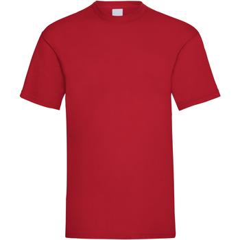 textil Herr T-shirts Universal Textiles 61036 Mörkröd
