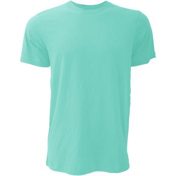 textil Herr T-shirts Bella + Canvas CA3001 Blåkråka