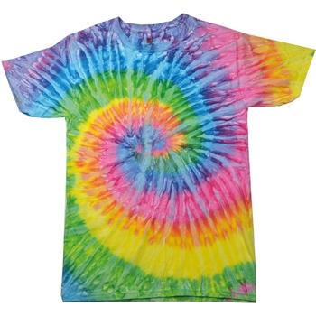 textil Dam T-shirts Colortone Rainbow Saturn