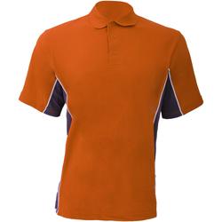 textil Herr Kortärmade pikétröjor Gamegear KK475 Orange/grafit/vit