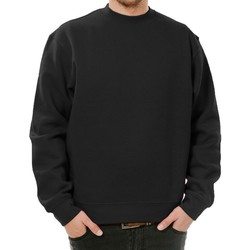 textil Herr Sweatshirts Casual Classics  Svart
