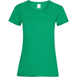 textil Dam T-shirts Universal Textiles 61372 Grön