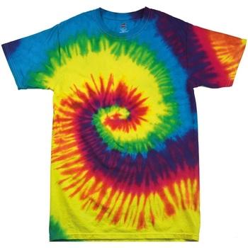 textil Barn T-shirts Colortone TD02B Regnbåge
