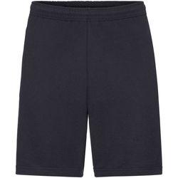 textil Herr Shorts / Bermudas Fruit Of The Loom 64036 Djupt marinblått