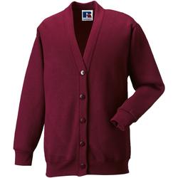 textil Barn Koftor / Cardigans / Västar Jerzees Schoolgear 273B Bourgogne