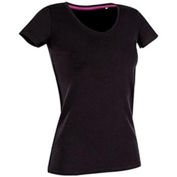 textil Dam T-shirts Stedman Stars Claire Svart opal