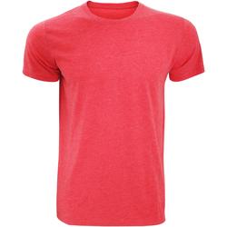textil Herr T-shirts Russell 165M Röd marl