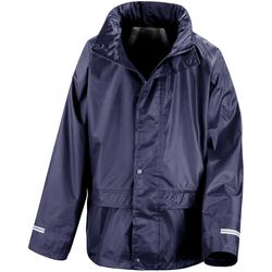 textil Barn Sportoverall Result R225J Marinblått