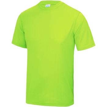 textil Barn T-shirts Awdis JC01J Elektrisk grönt