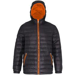 textil Herr Täckjackor 2786 TS016 Svart/orange