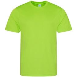 textil Herr T-shirts Awdis JC001 Elektrisk grönt
