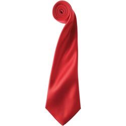 textil Herr Slipsar och accessoarer Premier PR750 Röd