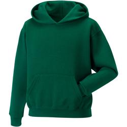 textil Barn Sweatshirts Jerzees Schoolgear 575B Flaskegrön