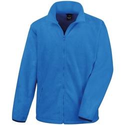 textil Herr Fleecetröja Result R220X Elektrisk blå