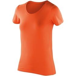 textil Dam T-shirts Spiro SR280F Mandarin