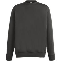 textil Herr Sweatshirts Fruit Of The Loom SS926 Ljus grafit