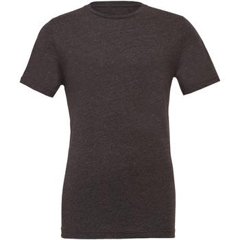 textil Herr T-shirts Bella + Canvas CA3001 Mörk ljung