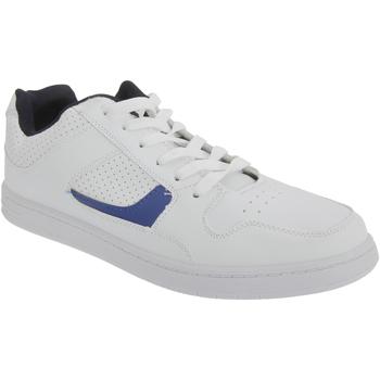 Skor Herr Sneakers Dek Euston Vitt/marinblått