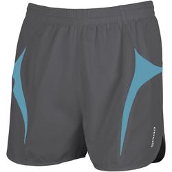 textil Herr Shorts / Bermudas Spiro S183X Grå/Aqua