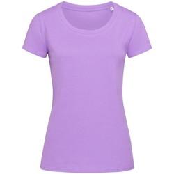 textil Dam T-shirts Stedman Stars  Lavendel Lila