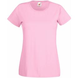 textil Dam T-shirts Universal Textiles 61372 Pastellrosa