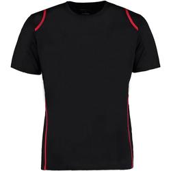 textil Herr T-shirts Gamegear Cooltex Svart/röd