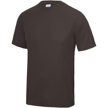 textil Herr T-shirts Awdis JC001 Varm choklad