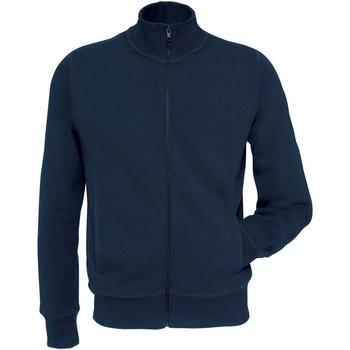 textil Herr Sweatshirts B And C WM646 Marinblått