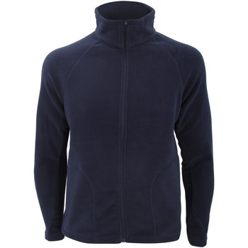 textil Herr Fleecetröja Result R114X Marinblått