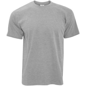 textil Herr T-shirts B And C TU004 Sport Grå