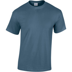 textil Barn T-shirts Gildan 5000B Indigoblå