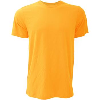 textil Herr T-shirts Bella + Canvas CA3001 Gul