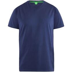 textil Herr T-shirts Duke  Marinblått