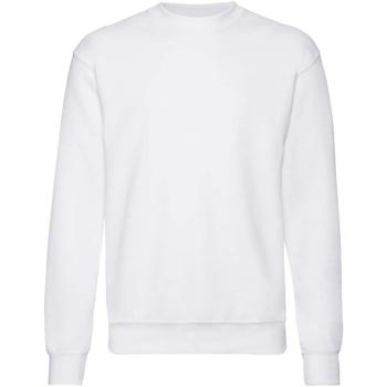 textil Barn Sweatshirts Fruit Of The Loom  Vit