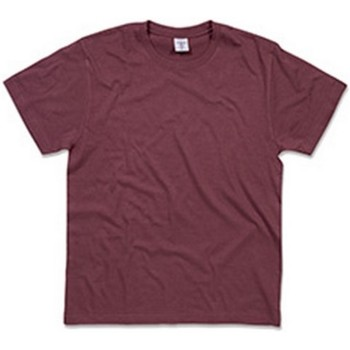 textil Herr T-shirts Stedman  Burgundy Red
