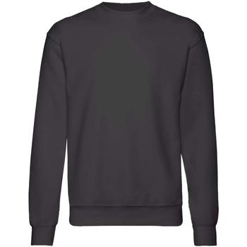 textil Barn Sweatshirts Fruit Of The Loom  Svart