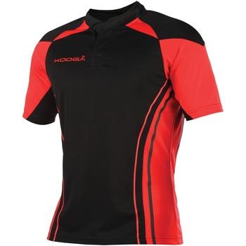 textil Herr T-shirts Kooga KG107 Svart/röd