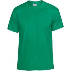 textil Herr T-shirts Gildan DryBlend Irländsk grön