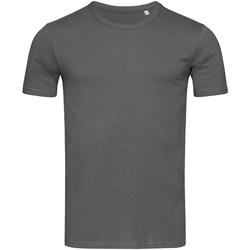 textil Herr T-shirts Stedman Stars Morgan Skiffergrått