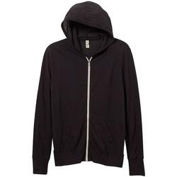 textil Herr Sweatshirts Alternative Apparel AT002 Eco True Black
