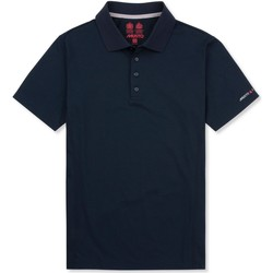textil Herr Kortärmade pikétröjor Musto Evolution Marinblått