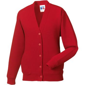 textil Barn Koftor / Cardigans / Västar Jerzees Schoolgear 273B Klassiskt röd