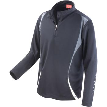 textil Dam Sweatjackets Spiro S178X Svart/grå/vit
