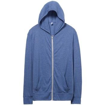 textil Herr Sweatshirts Alternative Apparel AT002 Eco Pacific Blue