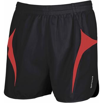 textil Herr Shorts / Bermudas Spiro S183X Svart/röd